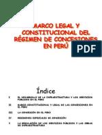 MARCO LEGAL Y CONSTITUCIONAL DEL RÉGIMEN DE CONCESIONES EN PERÚ II