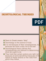 Deontological Theories