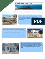 Monumentos históricos Cabo Frio  vitoria frança