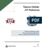 API Database Class