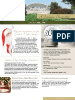 Hannibal Country Club December Newsletter