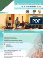 Plan de Operaciones de Emergencias de la Provincia de Anta