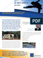 PVPT Fact Sheet Off-Grid is Competitive