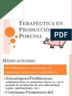 Terapeutica en Porcinocultura