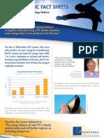 PVPT Fact Sheet PV Energy Balance
