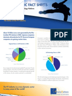 PVPT Fact Sheet Status of Industry