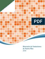 directorio de organizaciones sin fines de lucro 2010