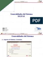 General Ida Des Del Sistema SIGFAS