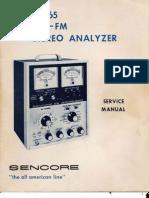 Sencore SG165 O&M Manual
