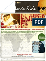 God Loves Kids December News