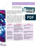 TJ100ME Brochure