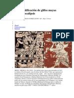 Nueva decodificación de glifos mayas descarta apocalipsis