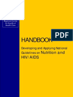 National Guidelines on Nutrition and HIV/AIDS