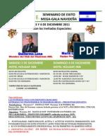 Mega Escuela Nicaragua 3 y 4 DIC 2011