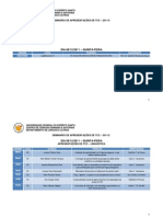 DLL/UFES APRESENTAÇÕES DE TCC-2011-2