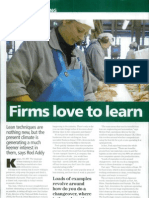 Addy R. (2009) Firms Love to Lean