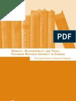 Honesty, Accountability and Trust