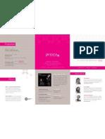 PRISCA Symposium 2012 Folder