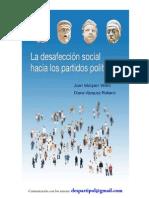 La desafección social hacia los partidos políticos