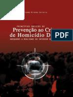 Livro Princípios Básicos de Prevenção ao Crime de Homicídio Doloso