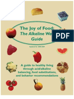 The Joy of Eating-The Alkaline Way