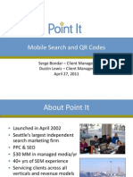 Mobile Search and QR Codes