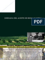 Jornada Del Aceite Rioja Alavesa.