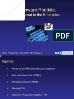 John Heasman- Firmware Rootkits