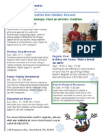 Family Workshop Flyer