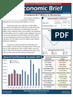 Rep. Evankovich December 2011 Economic Brief