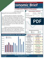 Rep. Harhart December 2011 Economic Brief