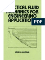 Practical Fluid Mechanics for Engineering Applications - Bloomer