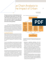 Latin America; Using Value Chain Analysis to Increase the Impact of Urban Farming