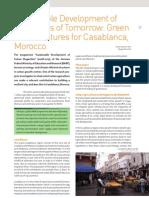Morocco; Sustainable Development of Megacities of Tomorrow
