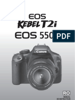 Manual Canon EOS 550D