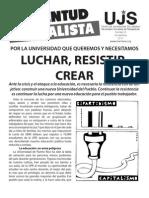 Luchar, resistir, crear, Boletín #8, Noviembre 2011