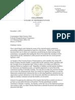 Speaker McNulty Letter To Super Partisan Mario