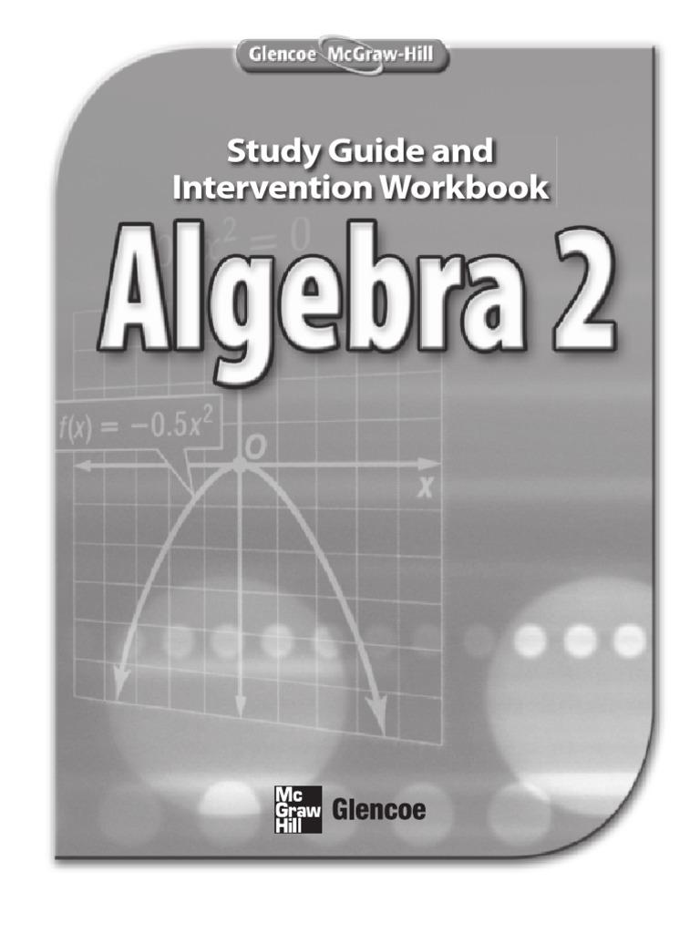 alg2sgi Trigonometric Functions – Glencoe Algebra 1 Worksheet Answers
