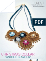 Swarovski Elements Xmas Collar Antique Glamour Tutorial