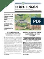 LA VOZ DEL RINCÓN 1a Edición