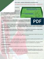 Orientacion Defensiva - Basculaciones - Entrada - Juego de Futbol - 9-12