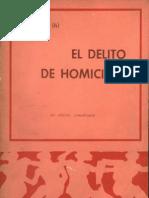 El Delito de Homcidio - Ricardo Levenne