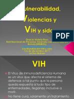 Vulnerabilidad Violencia y VIH. Dic 2011 GVRQ