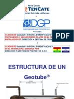 Experiencia DGP - Geotubes Peru & Extranjero SET 2011