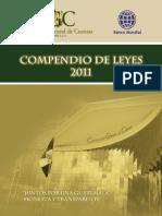 Compendio de Leyes CGC 2011