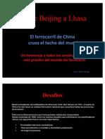 Tren China-Tibet (Beijing a Lhasa)