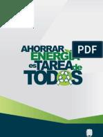 AHORRAR ENERGÍA ES TAREA DE TODOS