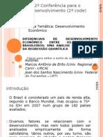 2ª Conferência para o Desenvolvimento (2ª code