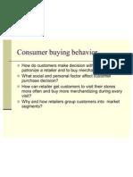 Buying Behviour Retail