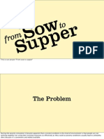 From Sow to Supper
